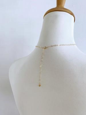 KAORU Heart chain Necklace