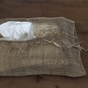old hemp tissue case