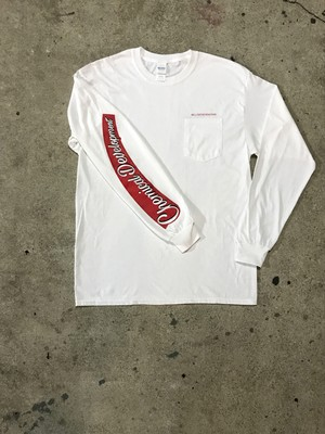 original Pocket LS/Tee [ホワイト]