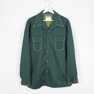 70's Poly Jacket green