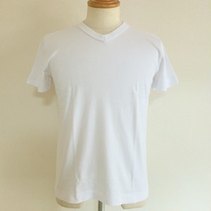 Keith / V neck T-shirts White