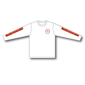 赤船来航ツアー L/T-shirt(white)