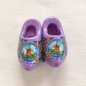 木靴マグネット Purple