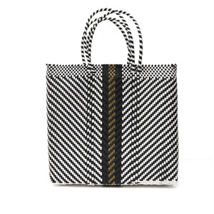 MERCADO BAG ESPIGA GOLD LINE- Black(M)
