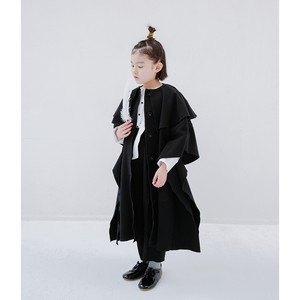 folk made fairy coat black M/L F20AW-026