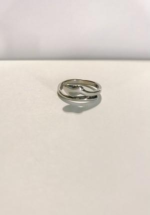 【12号】Vintage 925 silver heart ring ( ヴィンテージ シルバー ハート リング