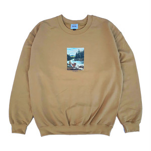 RWCHE JOURNEY SWEAT -Old Gold-
