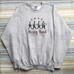 GMPD Heavy Road sweat Gray