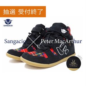 |受付終了|にゅBoots『PeterMac Black/Red』