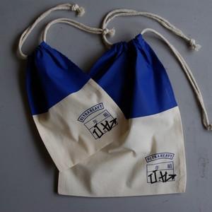ULTRA HEAVY UH運動靴袋 + プラセール内田洋一郎 BLUE