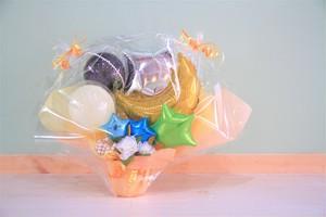 結婚式やお誕生日のお祝いに卓上バルーンギフトH(バルーンアレンジ) 送料込み 引き取りの場合4,500円
