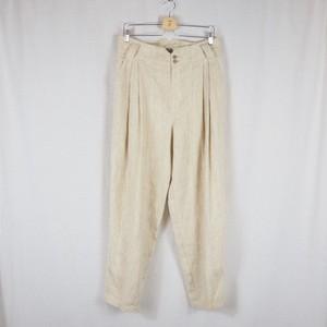 Vintage Linen Wide  Pants