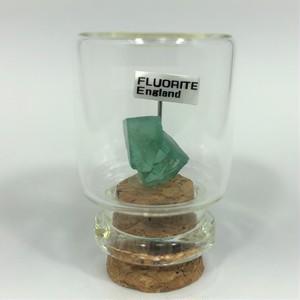 フローライト イギリスロジャリー産 宝石の森シリーズ ガラスボトルジュエリー bs086