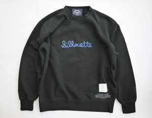 "NHC EMBROIDERY PRINT SWEAT  ""SILHOUETTE"""
