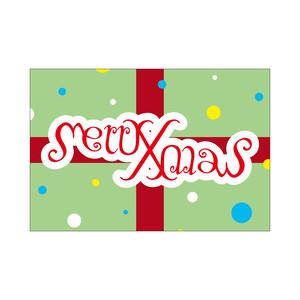 アンビグラム/Merry Xmas ASOBIDEAカード 0020