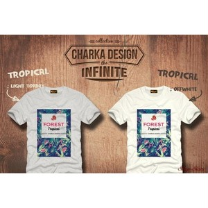 Tropical Art Printing T-Shirts