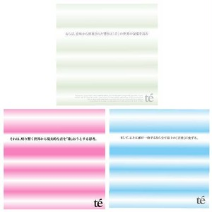 【te'】 full album 3枚セット(1st, 2nd, 3rd)