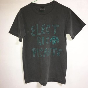 """ELECTRIC PICANTE"" tee men's S"