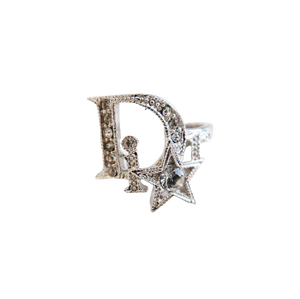 ONLY ONE【VINTAGE ACCESSORY】DIOR スターモチーフリング シルバー