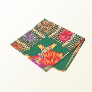 スカーフ(シルク100%)
