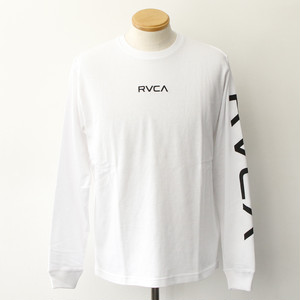 SMALL RVCA LS TEE (WHITE)