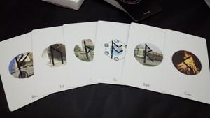 アングロサクソンルーンカード(34枚セット)