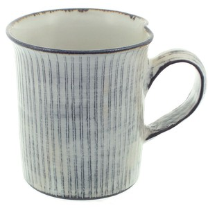 京焼 清水焼 関陶房 マグカップ 290ml 京わび白十草 589009