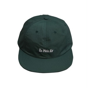 EN PLEIN AIR / NYLON 6 PANEL CAP -GREEN-