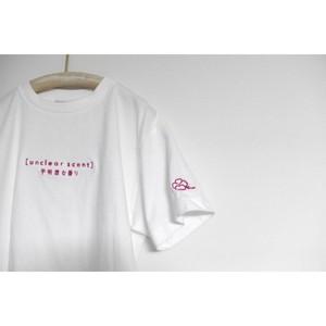 梨凛花 uncler scentlogo T-shirt  Whitepink