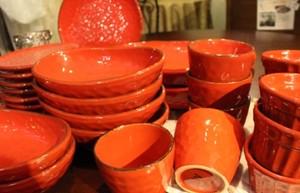 「イタリアと和の融合」陶器の楕円鉢S