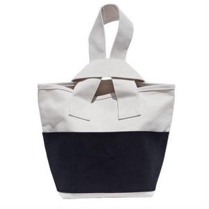 CLOUCHY SHOULDER BAG (キナリ×ブラック)