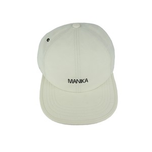 MANIKA  LOGO / WP 6Panel Fold Web Dad Cap / Cream