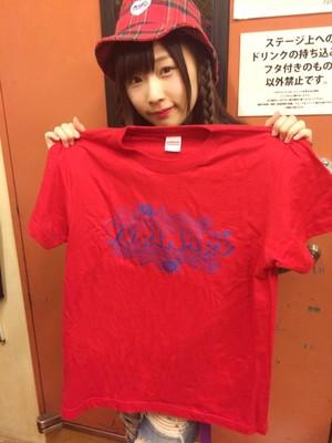 【平野友里(ゆり丸)】1126ワンマンTシャツ