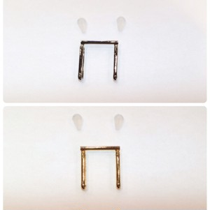 ブローチを帯留めにする用の金具(大)