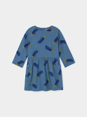 【19AW】ボボショセス(BOBO CHOSES) -ALL OVER A STAR CALLED HOME PRINCESS DRESS[2-3y/4-5y/6-7y] ワンピース