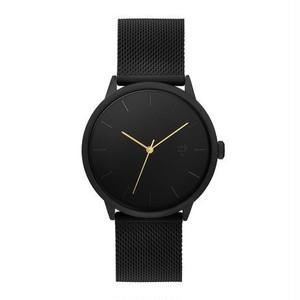 【CHPO】Nando Motör Black dial / Black metal mesh wristband