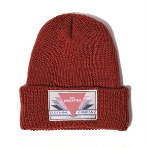 "DUCKTAIL CLOTHING KNIT CAP ""REET PETITE"" RUST ダックテイル クロージング ニットキャップ"