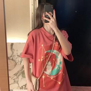 【トップス】人気ゆったり学生清新シャツ