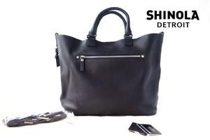 【9月末限定価格】シャイノラ|shinola|ホーウィン社製レザー使用|ミディアムトートバッグ|ネイビー