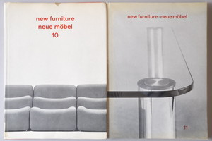「new furniture neue mobel muebles modernos」10,11号セット