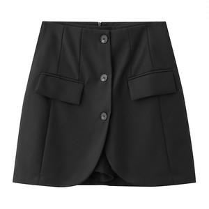 シングルボタンスカートパンツ LMXK149