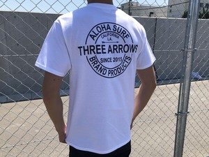 ThreeArrows BP Tシャツ(white)