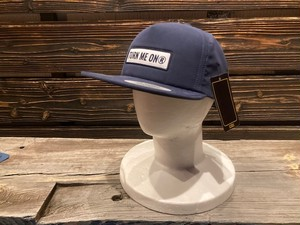 Turn Me On  ロゴワッペンキャップ WATER REPELLENT加工(NAVY)  521-241