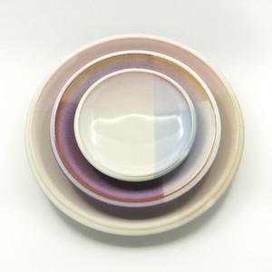 トリオプレート -shikisai- 萩焼