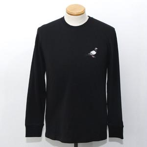 CLASSIC PIGEON L/S TEE (BLACK)