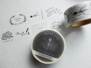 Masking tape【7pattern  /thank you】
