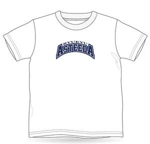 0008 琉球アスティーダ Tシャツ(ロゴ・ホワイト)