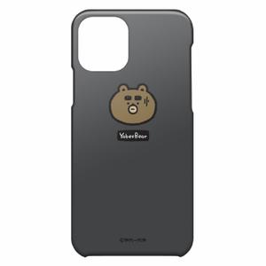 iPhone11 Proケース(わや顔ブルーグレイ)