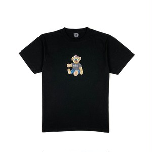 BB BEAR(STOP TOY Ver.) TEE / BLACK