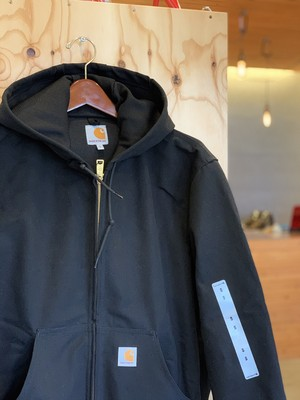 CARHARTT Duck Thermal-Lined Active Jacket BLACK